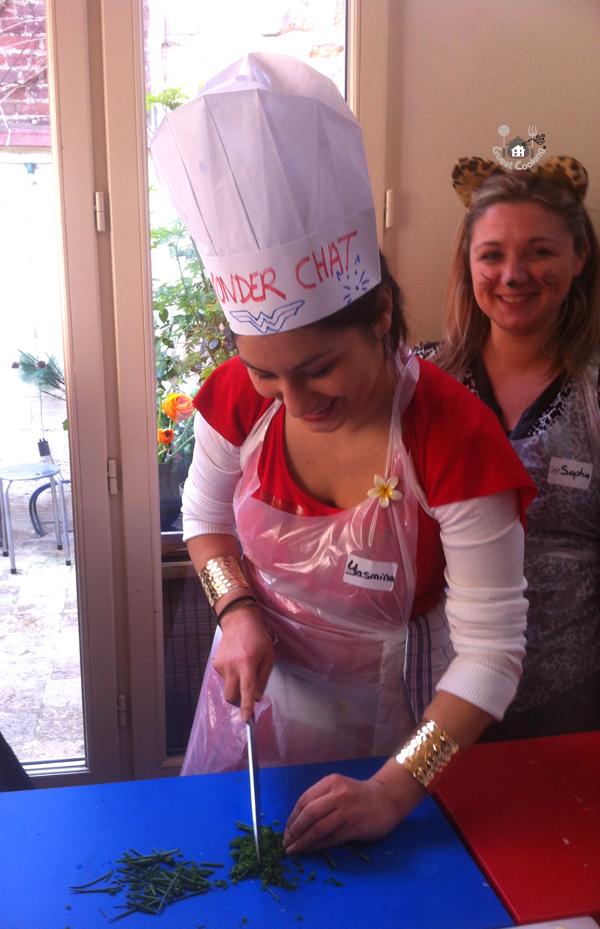 EVJF Cours de cuisine GuestCooking Coup de coeur