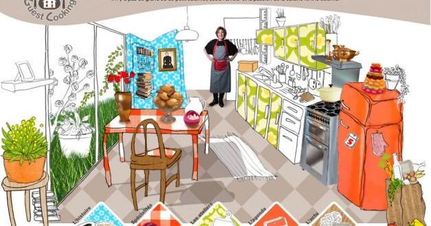 ao t 2011 guestcooking cours de cuisine. Black Bedroom Furniture Sets. Home Design Ideas