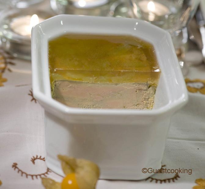 Foie gras en terrine chez GuestCooking