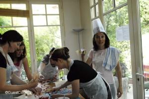 EVJF Paris cours de cuisine