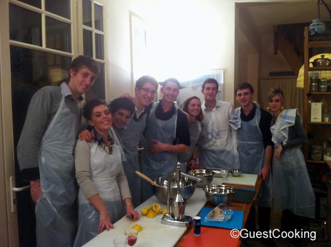 Cours de cuisine en groupe guestcooking cours de cuisine for Cours cuisine