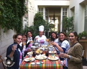 Cours de cuisine evjf GuestCooking Paris