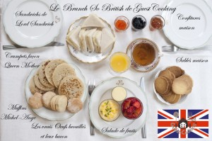 Brunch ˆvery British cours de cuisine GuestCooking Paris