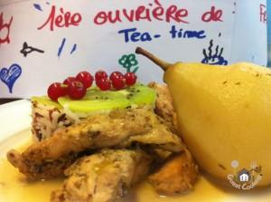 La cuisine au thé  d'Aurélie GuestCooking