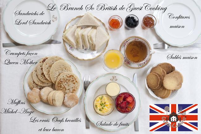 Brunch ˆ à Paris chez GuestCooking, cours de cuisine