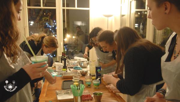 Cours de cuisine GuestCooking à la Badoit