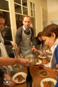 Cours de cuisine entreprise chez GuestCooking