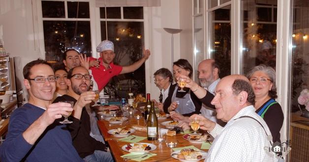 Cours de cuisine en famille chez GuestCooking
