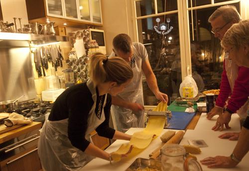 Cours de cuisine GuestCooking tagliatelles maison