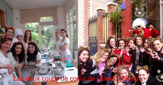 Cours de cuisine paris GuestCooking