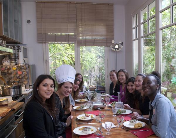 Evjf cours de cuisine chez guestcooking guestcooking - Ecole de cuisine a paris ...