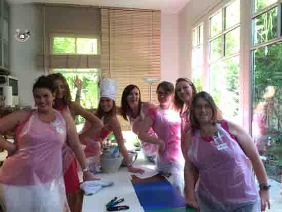 cours de cuisine Paris EVJF de folie