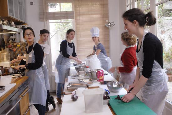 Cours de cuisine GuestCooking à six