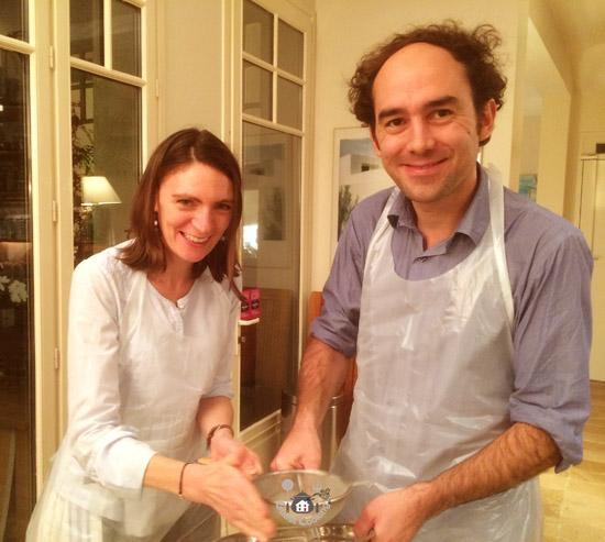 Cours de cuisine GuestCooking en Amoureux