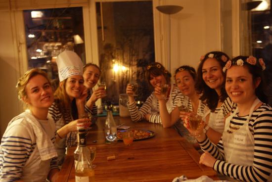EVJF cours de cuisine paris
