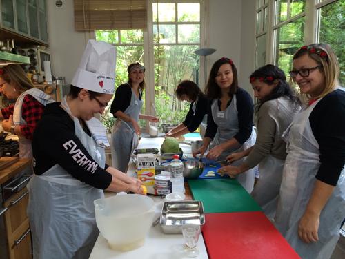 EVJF Cours de cuisine GuestCooking Paris
