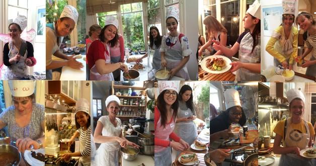 EVJF cours de cuisine les Top Chefs